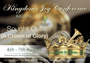 KJC2016 Sought Out (A Crown of Glory) @ Fountain of Peace Ministries   London   England   United Kingdom