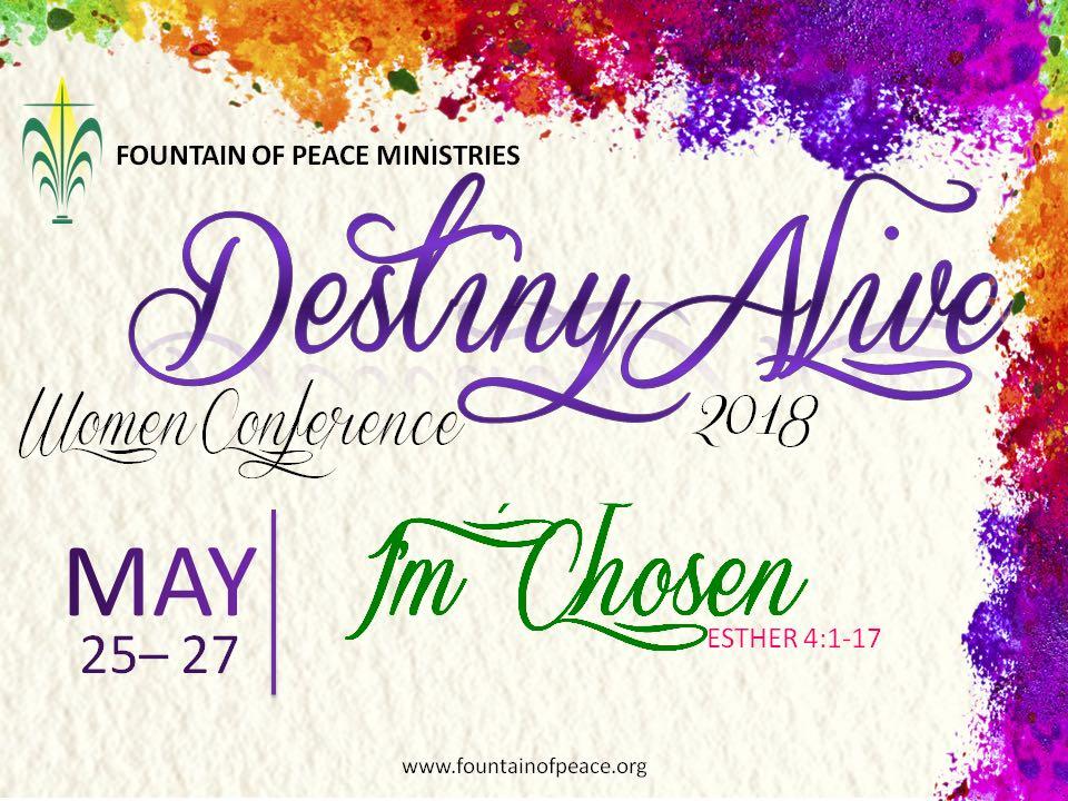 Destiny Alive Women Conference 2018